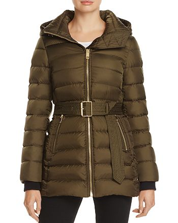 Burberry - Limefield Belted Down Puffer Coat - 100% Exclusive