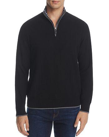 TailorByrd - Quarter-Zip Sweater