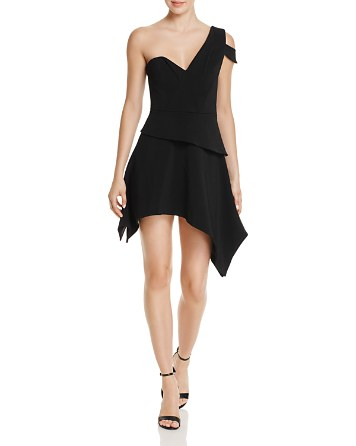 $La Maison Talulah Aretha Asymmetric Mini Dress - Bloomingdale's