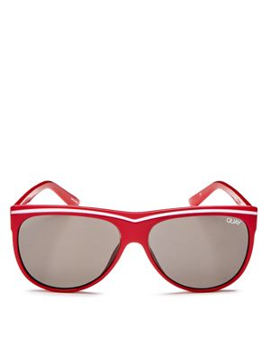 Quay Hollywood Nights Square Sunglasses, 55mm