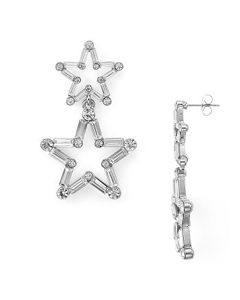 AQUA - Odette Baguette Star Earrings - 100% Exclusive
