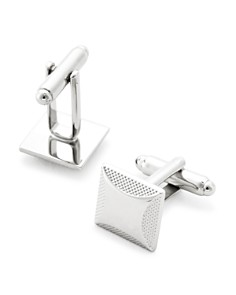 The Men's Store at Bloomingdale's Brushed Edge Square Cufflinks - 100% Exclusive_0