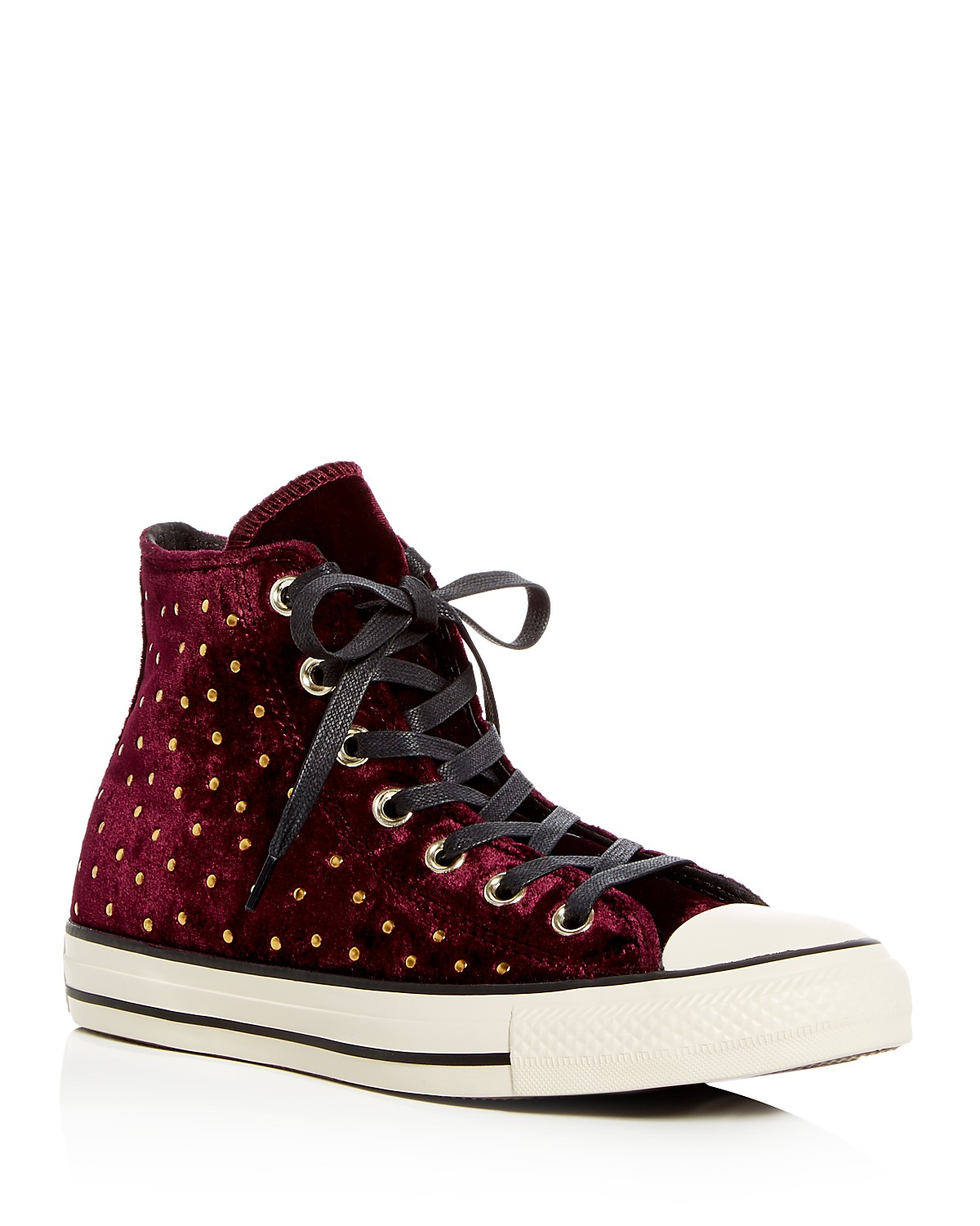 Converse Women's Chuck Taylor Embellished Velvet High Top Sneakers bXMSeUi