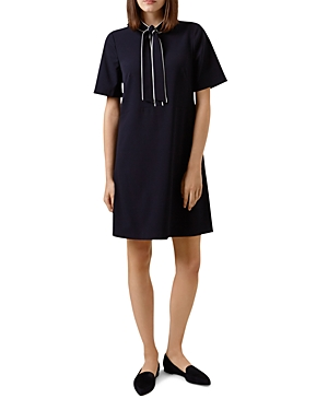 Hobbs London Sarah Tie-Neck Dress