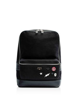 Zadig & Voltaire Arizona Canvas & Leather Backpack 2626194