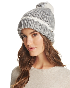 kate spade new york Pom-Pom Knit Beanie