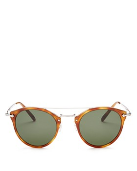 Oliver Peoples - Women's Remick Round Sunglasses, 50mm
