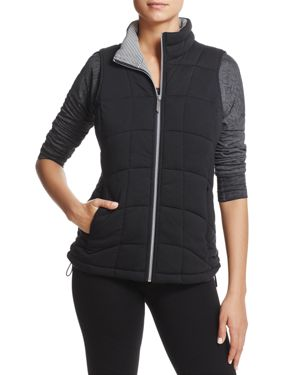 Andrew Marc Performance Quilted Knit Vest 2718093