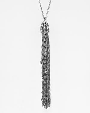 Alexis Bittar Cascade Tassel Pendant Necklace, 20