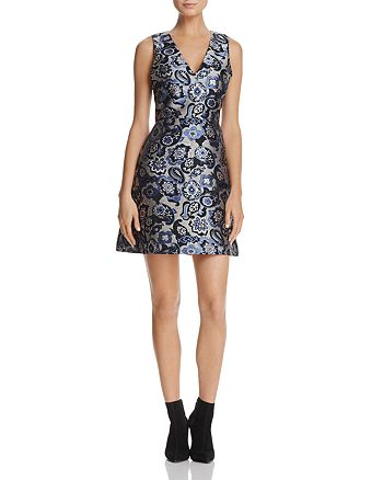 Alice and Olivia - Malin Fit-and-Flare Dress