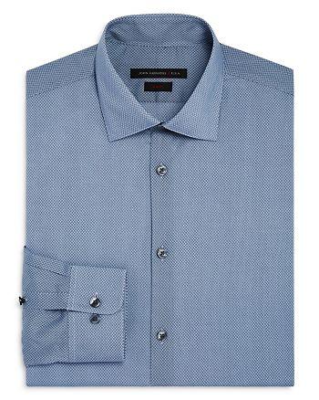 John Varvatos Star USA - Small Dot Waves Slim Fit Dress Shirt