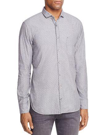 BOSS - Cattitude Long Sleeve Button-Down Shirt