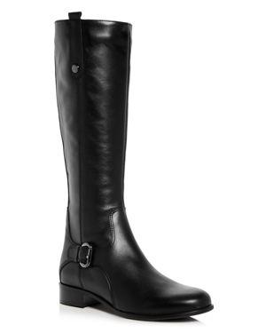 La Canadienne Women's Stefanie Waterproof Leather Low Heel Riding Boots