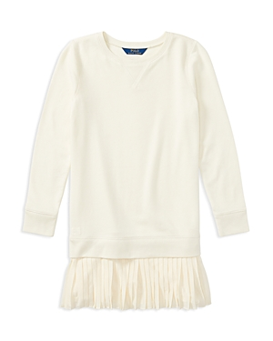 Ralph Lauren Childrenswear Girls Sweatshirt Dress  Big Kid