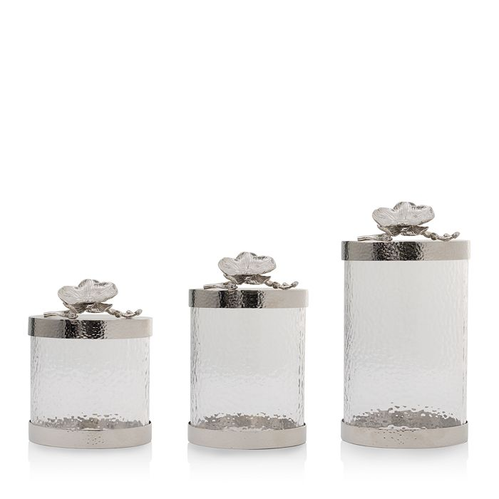 Michael Aram - White Orchid Canisters