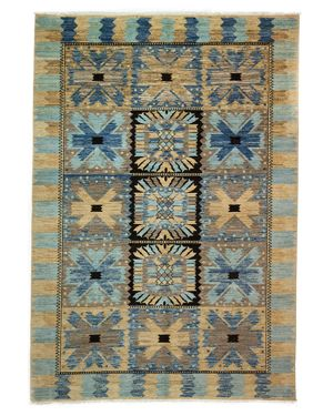 Solo Rugs Eclectic Area Rug, 6'2 x 8'10