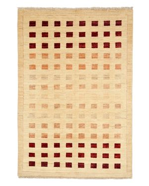 Solo Rugs Gabbeh Area Rug, 4'1 x 5'10