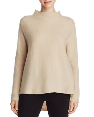 Eileen Fisher Funnel Neck High Low Sweater