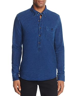 Oobe Charleston Popover Button Shirt