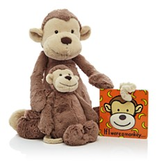 Jellycat Bashful Monkey & If I Were a Monkey Book - Ages 0+ - Bloomingdale's_0