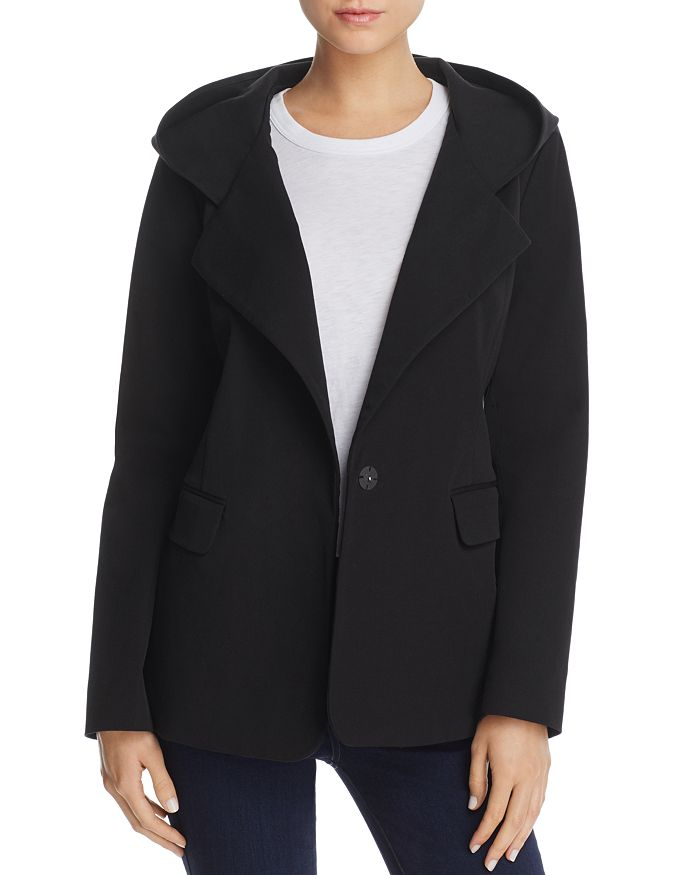 Donna Karan - Hooded Jacket