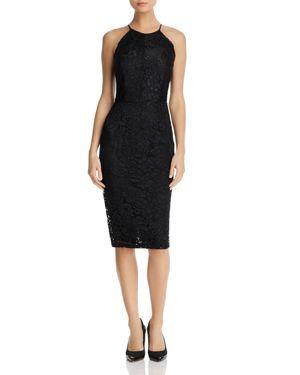 Yumi Kim Save The Date Lace Halter Dress