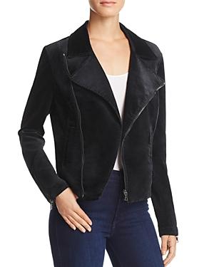 Ag Velvet Moto Jacket