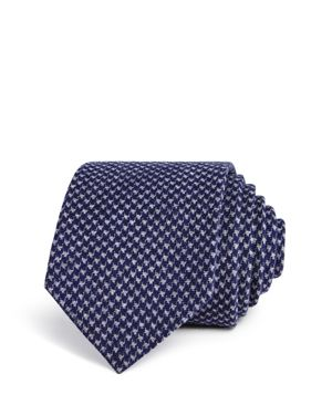 The Men's Store at Bloomingdale's Textured Houndstooth Skinny Tie - 100% Exclusive thumbnail