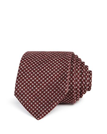 The Men's Store at Bloomingdale's - Textured Houndstooth Skinny Tie - 100% Exclusive