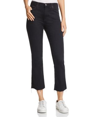 Ag Jodi Crop Jeans in 3 Years Obsidian