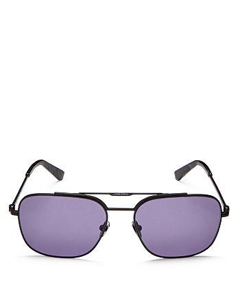 Calvin Klein - Men's Square Sunglasses, 54mm