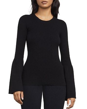 $BCBGMAXAZRIA Waverley Flared-Sleeve Sweater - Bloomingdale's