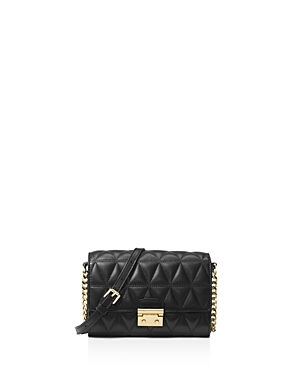 Michael Michael Kors Ruby Medium Quilted Leather Clutch