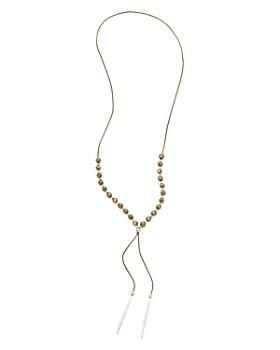 "Gorjana - Power Gem Beaded Necklace, 18"""