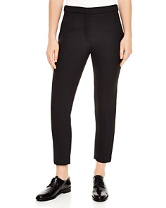 Sandro - Andy Cropped Straight-Leg Pants