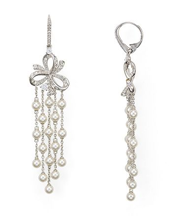 Nadri - Marion Cascade Leverback Earrings