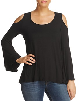 Alison Andrews - Cold-Shoulder Top