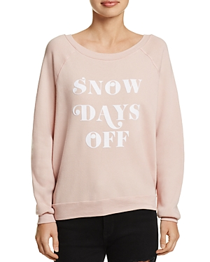Project Social T Snow Days Graphic Sweatshirt