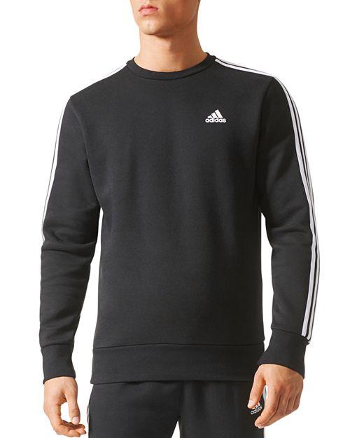 8b17d84c39c44 adidas Originals Essentials 3-Stripe Crewneck Sweatshirt   Bloomingdale s