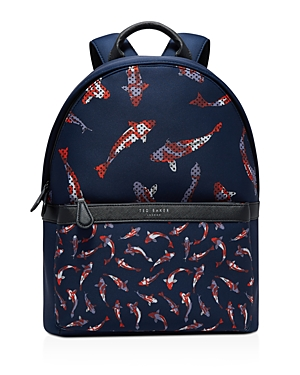 Ted Baker Koiyo Printed Backpack