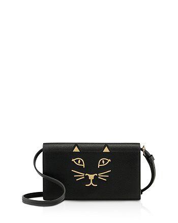 Charlotte Olympia - Feline Leather Crossbody