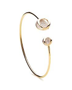 Antonini 18K Yellow Gold Atolli Diamond Open Cuff Bracelet - Bloomingdale's_0