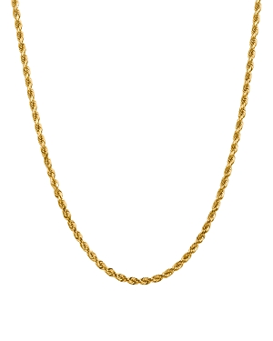 Bloomingdale's 14K YELLOW GOLD 4MM DIAMOND CUT ROPE CHAIN NECKLACE, 20 - 100% EXCLUSIVE