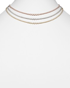 Bloomingdale's - Diamond Graduated Tennis Necklace in 14K Gold, 8.45 ct. t.w. - 100% Exclusive