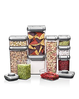 OXO - Steel 10-Piece POP Container Set