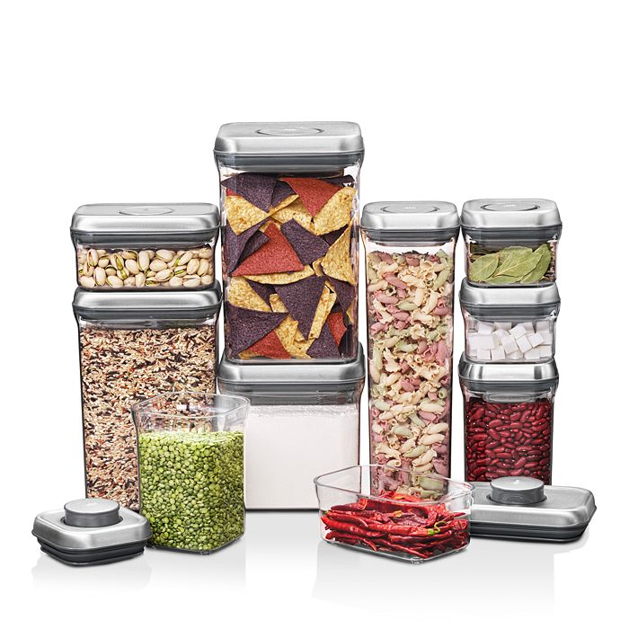 OXO - Steel 10-Piece POP Container Set