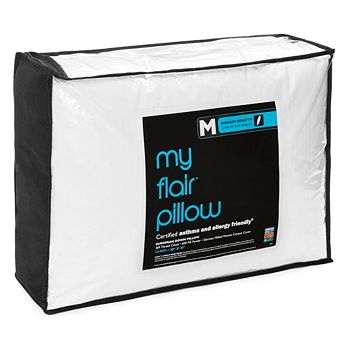 Bloomingdale's - My Flair Asthma & Allergy Friendly Medium Pillow, Queen - 100% Exclusive