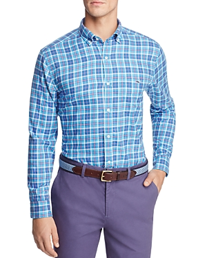 Vineyard Vines Plaskett Creek Plaid Button-Down Shirt