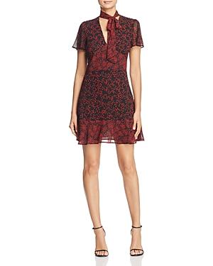 Michael Michael Kors Mixed Star Print Flounce Dress