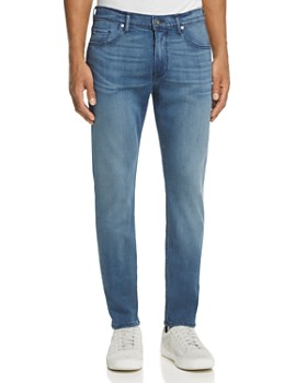 PAIGE - Transcend Federal Slim Fit Jeans in Skylar